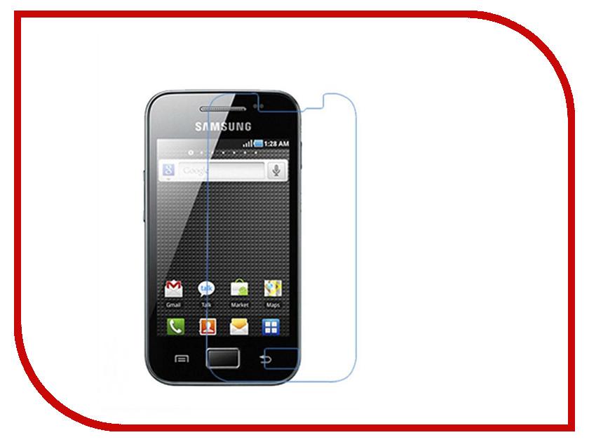 Аксессуар Защитная пленка для Samsung GT-S5830 Galaxy Ace Media Gadget Premium / Ainy / Mstyle матовая аксессуар защитная пленка samsung g925f galaxy s6 edge ainy матовая