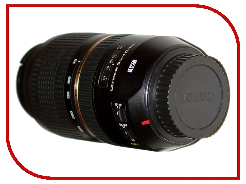 Объектив Tamron SP AF 70-300mm f/4.0-5.6 Di VC USD Canon EF free shipping new and original for niko lens af s nikkor 70 200mm f 2 8g ed vr 70 200 protector ring unit 1c999 172