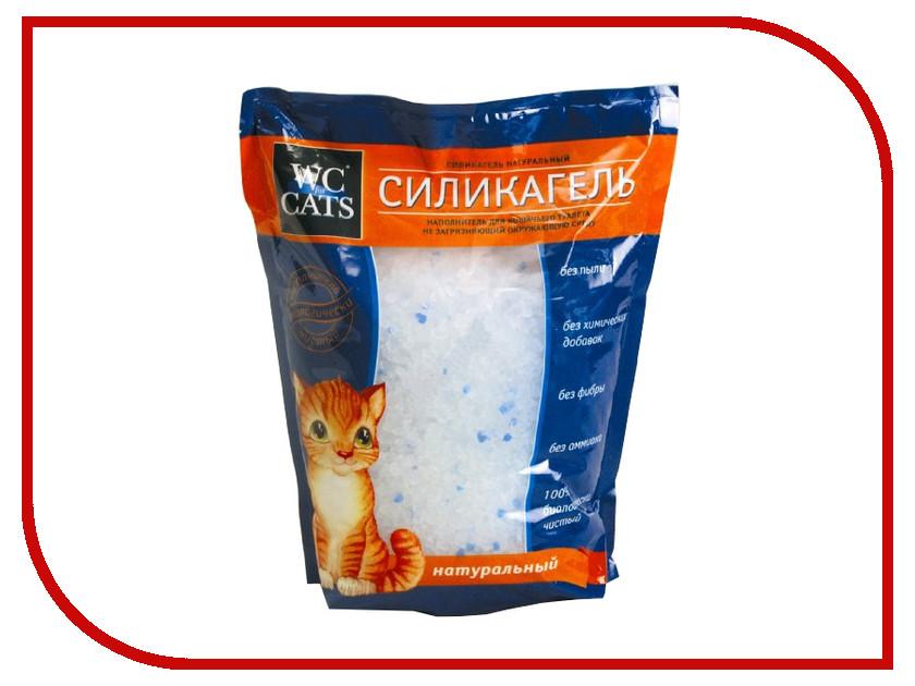 Наполнитель WC 3.8L силикагелевый антибактериальный, оранжевая полоса 353010/8<br>