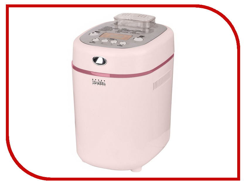 Хлебопечь Delta DL-8002B Pink<br>