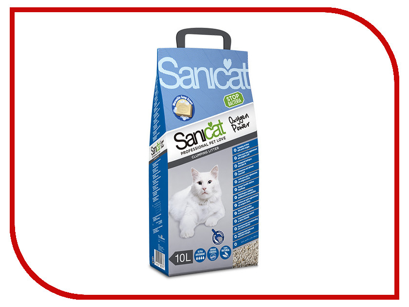 Наполнитель Sanicat Oxygen Power 10L 170.002<br>