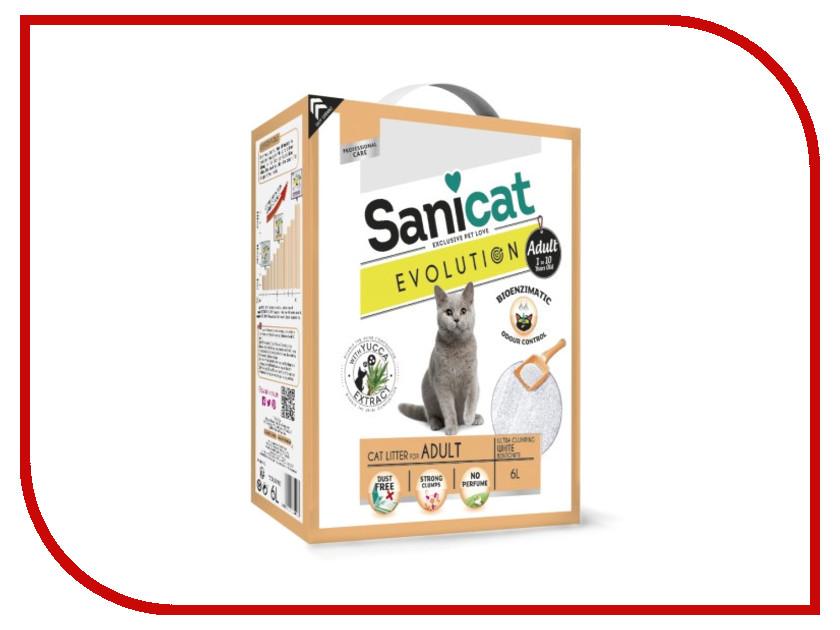 Наполнитель Sanicat Evolution Adult 6L 170.004