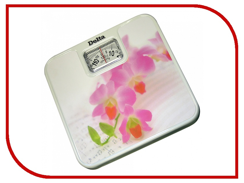 Весы Delta D-9011-H11 Pink Flowers<br>