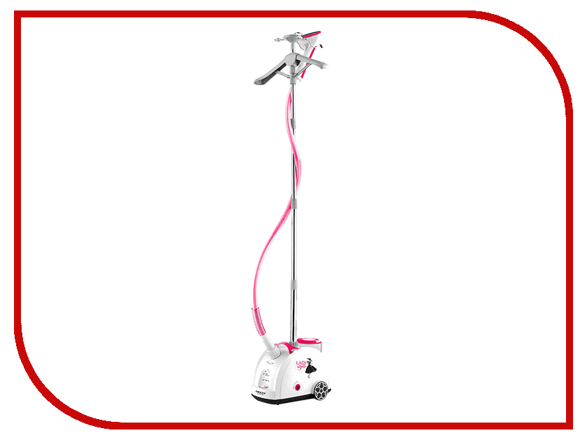 Отпариватель Delta Lux DL-858PS White-Pink delta dl 5050 pink