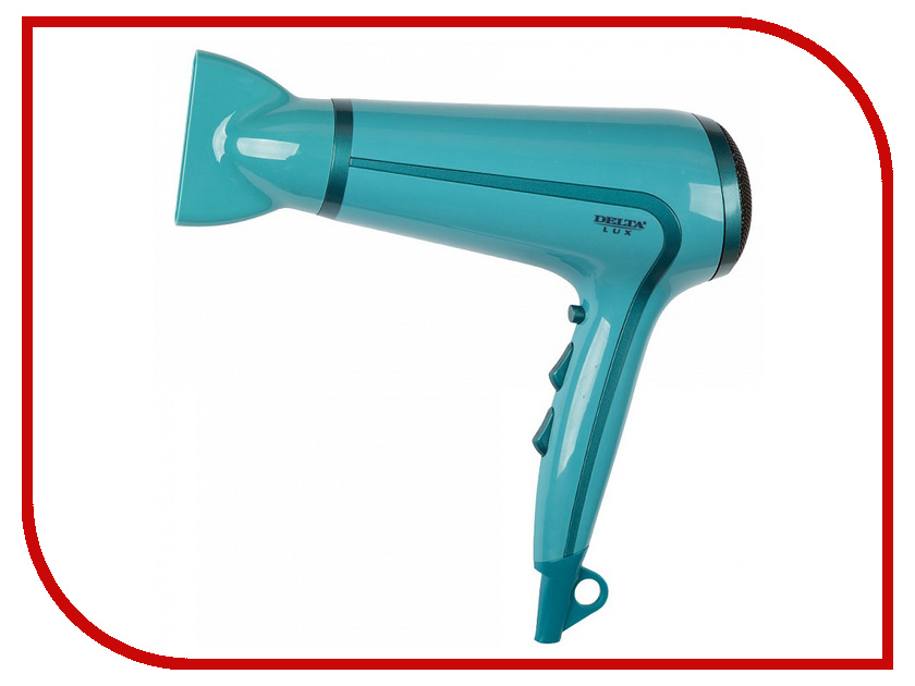 Фен Delta Lux DL-0911 Turquoise<br>
