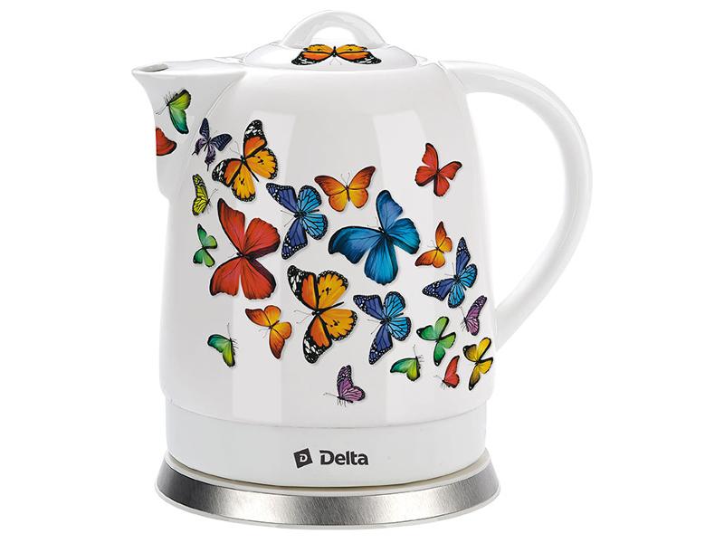 Чайник Delta DL-1233A Butterflies