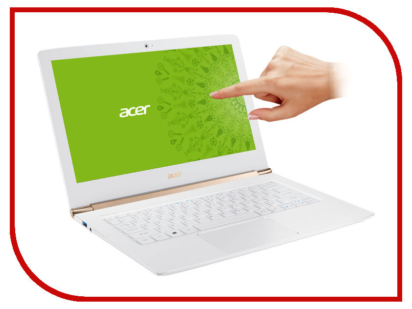 Ноутбук Acer Aspire S5-371T-5409 NX.GCLER.001 (Intel Core i5-6200U 2.3 GHz/8192Mb/256Gb SSD/No ODD/Intel HD Graphics/Wi-Fi/Bluetooth/Cam/13.3/1920x1080/Touchscreen/Windows 10 64-bit)<br>