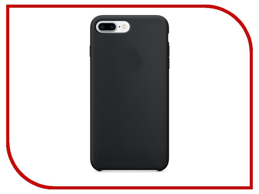Аксессуар Чехол APPLE iPhone 7 Plus Silicone Case Black MMQR2ZM/A<br>