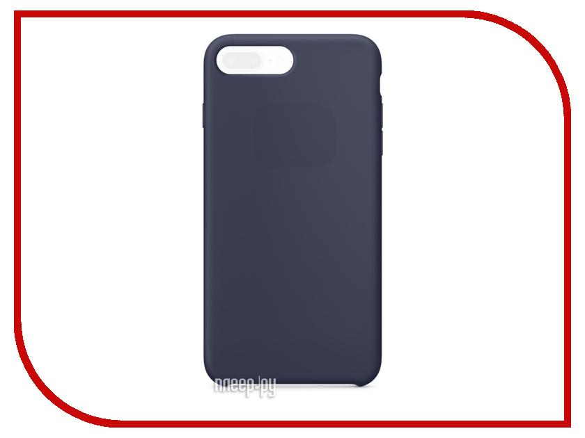 Аксессуар Чехол APPLE iPhone 7 Plus Silicone Case Midnight Blue MMQU2ZM/A<br>