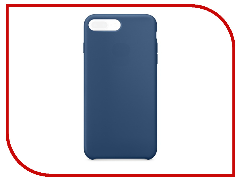 Аксессуар Чехол APPLE iPhone 7 Plus Silicone Case Ocean Blue MMQX2ZM/A<br>