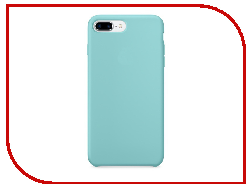 Аксессуар Чехол APPLE iPhone 7 Plus Silicone Case Sea Blue MMQY2ZM/A<br>