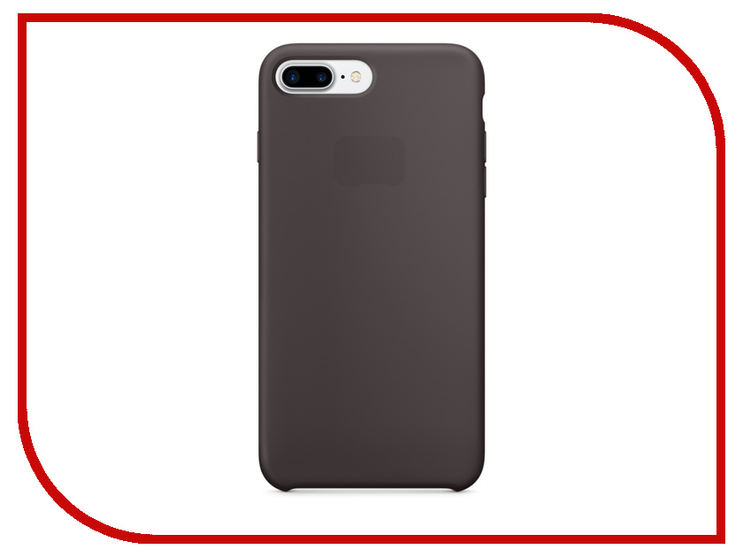 Аксессуар Чехол APPLE iPhone 7 Plus Silicone Case Cocoa MMT12ZM/A