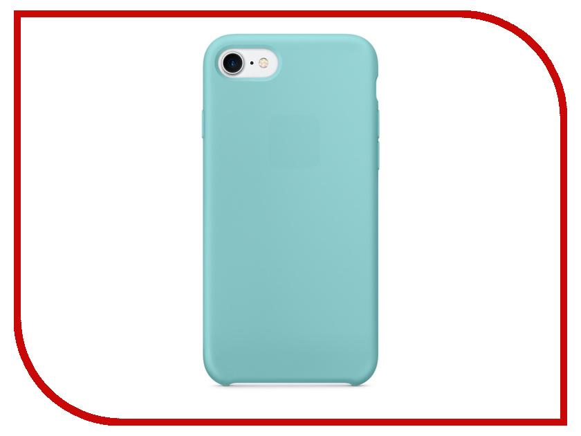 Аксессуар Чехол APPLE iPhone 7 Silicone Case Sea Blue MMX02ZM/A<br>