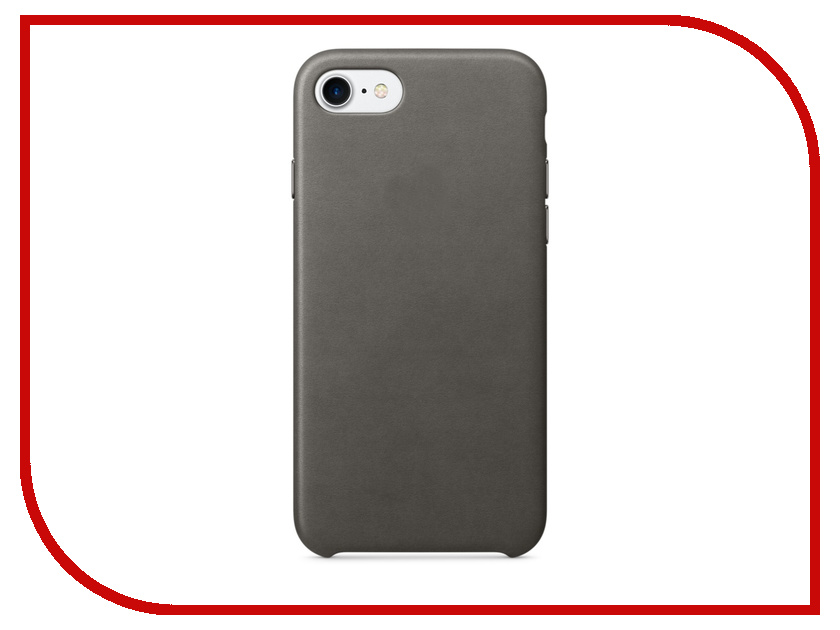 Аксессуар Чехол APPLE iPhone 7 Leather Case Storm Gray MMY12ZM/A<br>