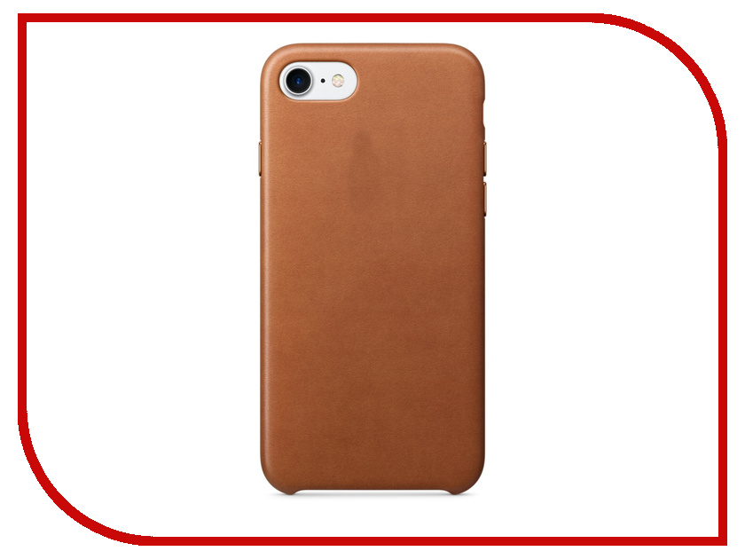 Аксессуар Чехол APPLE iPhone 7 Leather Case Saddle Brown MMY22ZM/A<br>