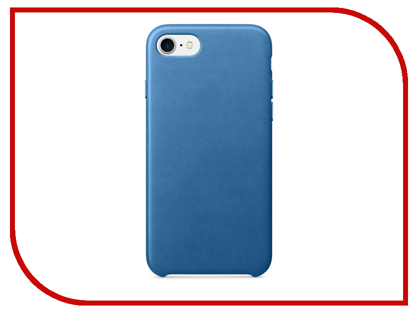 Аксессуар Чехол APPLE iPhone 7 Leather Case Sea Blue MMY42ZM/A<br>