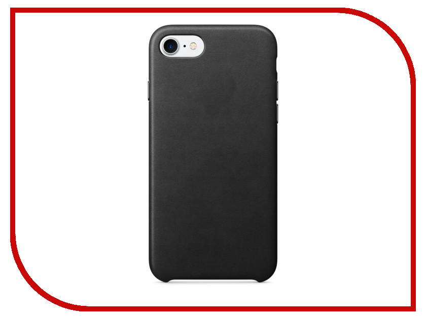 Аксессуар Чехол APPLE iPhone 7 Leather Case Black MMY52ZM/A<br>