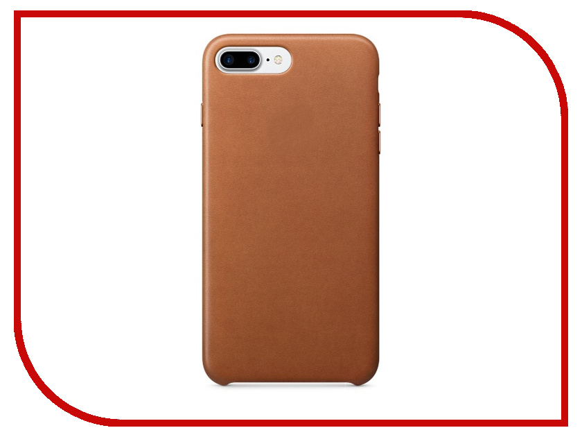 Аксессуар Чехол APPLE iPhone 7 Plus Leather Case Saddle Brown MMYF2ZM/A