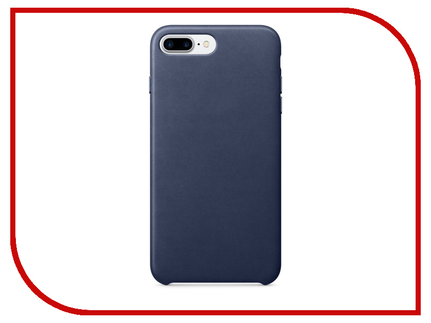 Аксессуар Чехол APPLE iPhone 7 Plus Leather Case Midnight Blue MMYG2ZM/A ресивер yamaha rx a1050