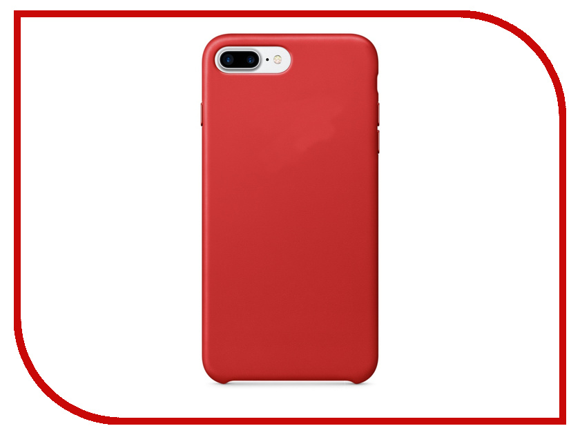 Аксессуар Чехол APPLE iPhone 7 Plus Leather Case Product Red MMYK2ZM/A<br>