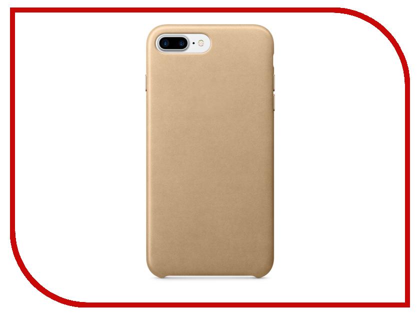 Аксессуар Чехол APPLE iPhone 7 Plus Leather Case Tan MMYL2ZM / A