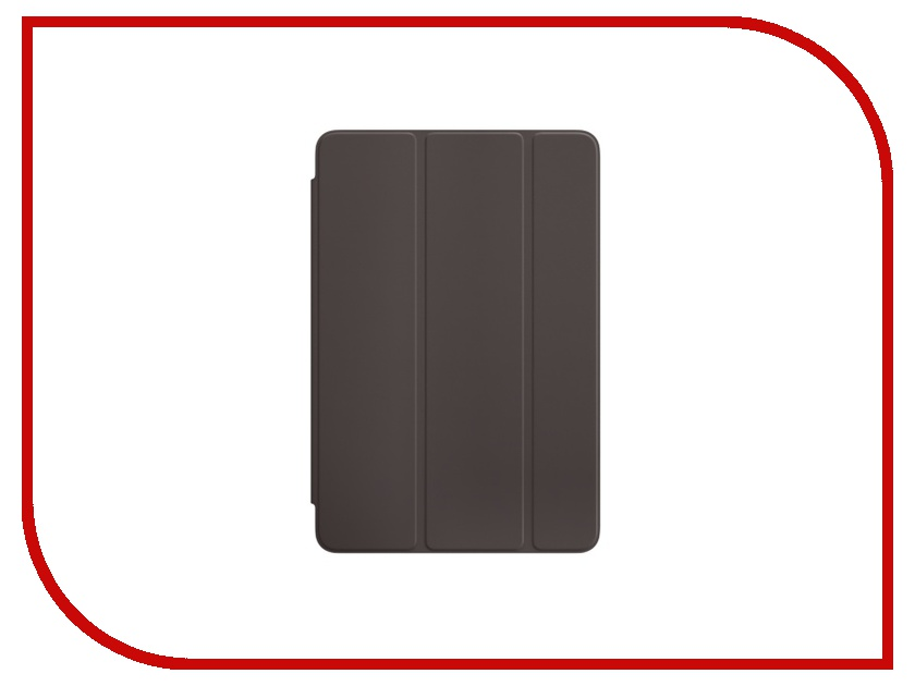 Аксессуар Чехол APPLE iPad mini 4 Smart Cover Cocoa MNN52ZM/A<br>