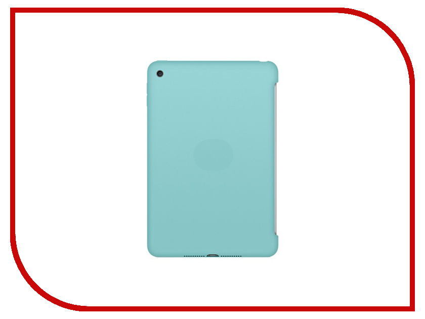 Аксессуар Чехол APPLE iPad mini 4 Silicone Case Sea Blue MN2P2ZM/A<br>