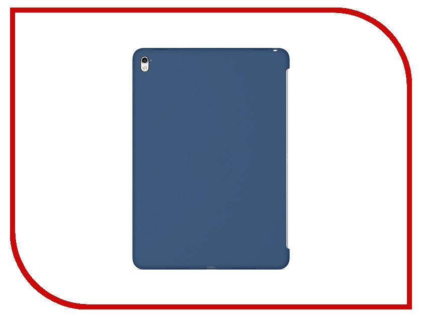Аксессуар Чехол APPLE iPad Pro 9.7 Silicone Case Ocean Blue MN2F2ZM/A чехол для планшета apple ipad pro 9 7 silicone case ocean blue mn2f2zm a