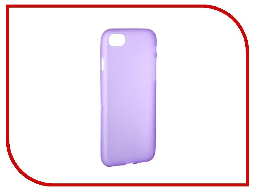 Аксессуар Чехол Activ для APPLE iPhone 7 Silicone Violet Mat 62027<br>