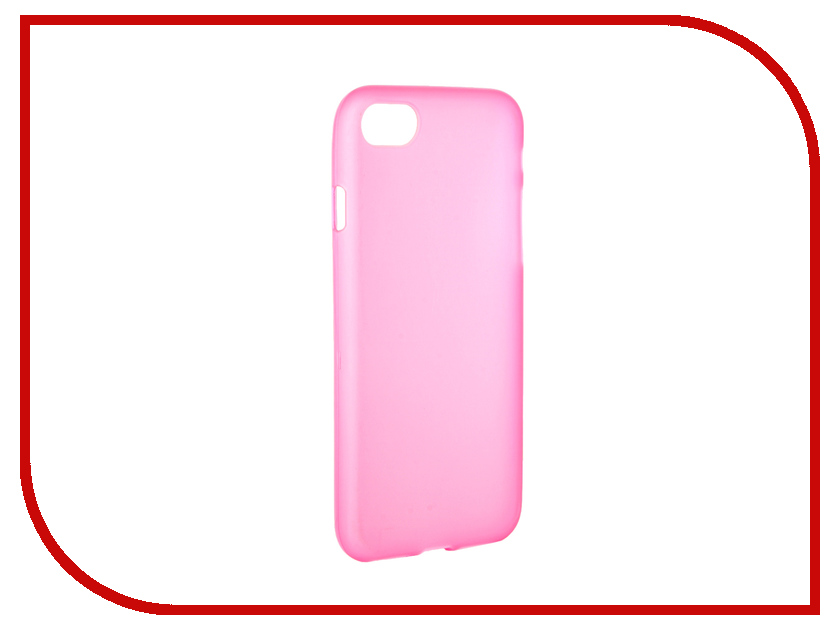 Аксессуар Чехол Activ для APPLE iPhone 7 Silicone Rose Mat 62026<br>