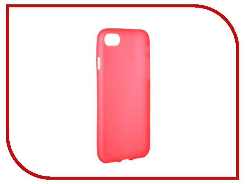 Аксессуар Чехол Activ для APPLE iPhone 7 Silicone Red Mat 61824<br>