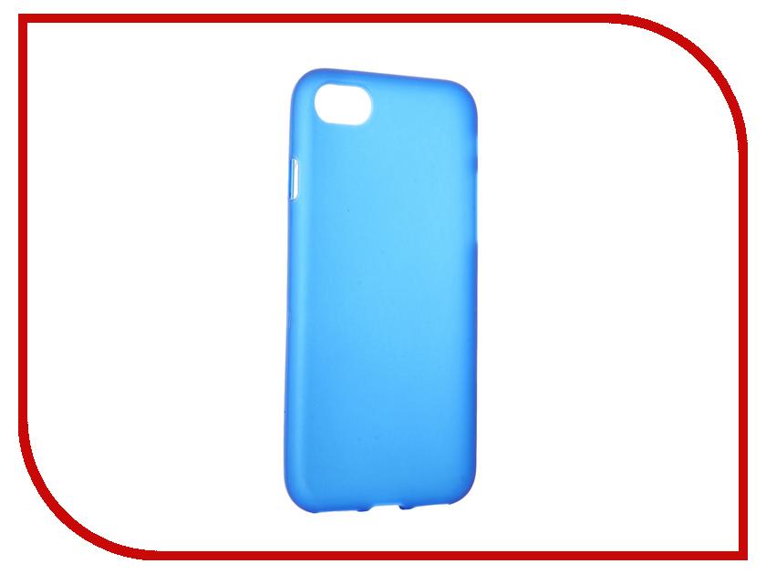 Аксессуар Чехол Activ для APPLE iPhone 7 Silicone Blue Mat 61823<br>