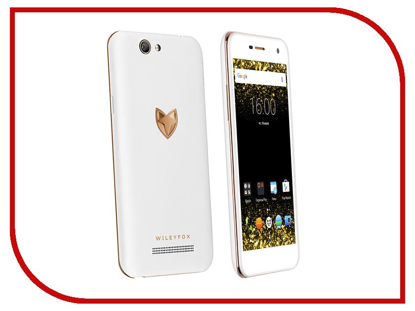 Сотовый телефон Wileyfox Spark White<br>