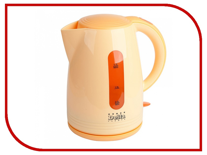 Чайник Delta DL-1303 Orange<br>