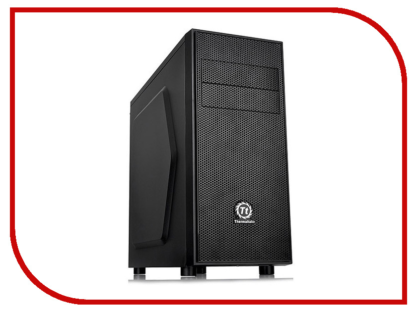 Корпус Thermaltake Versa H24 Black CA-1C1-00M1NN-00 darkness visible