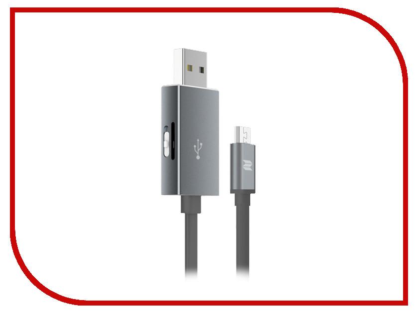 Аксессуар ROCK OTG Reader Type-C - USB RHD0909 Space Grey<br>