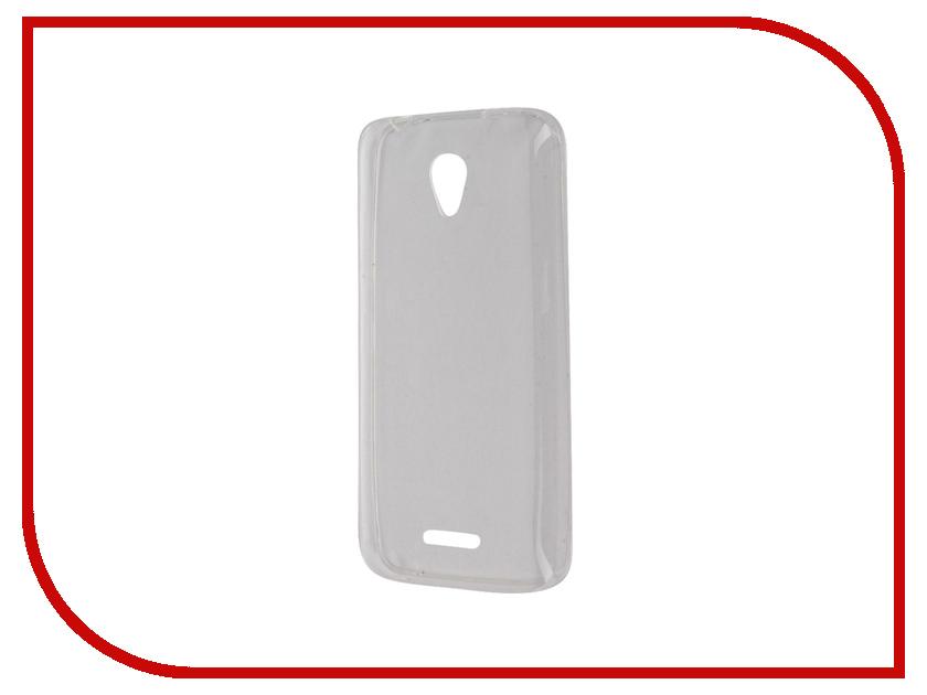 Аксессуар Чехол Lenovo A1010 / A2016 SkinBox Slim Silicone Transparent T-S-LA1010-005<br>