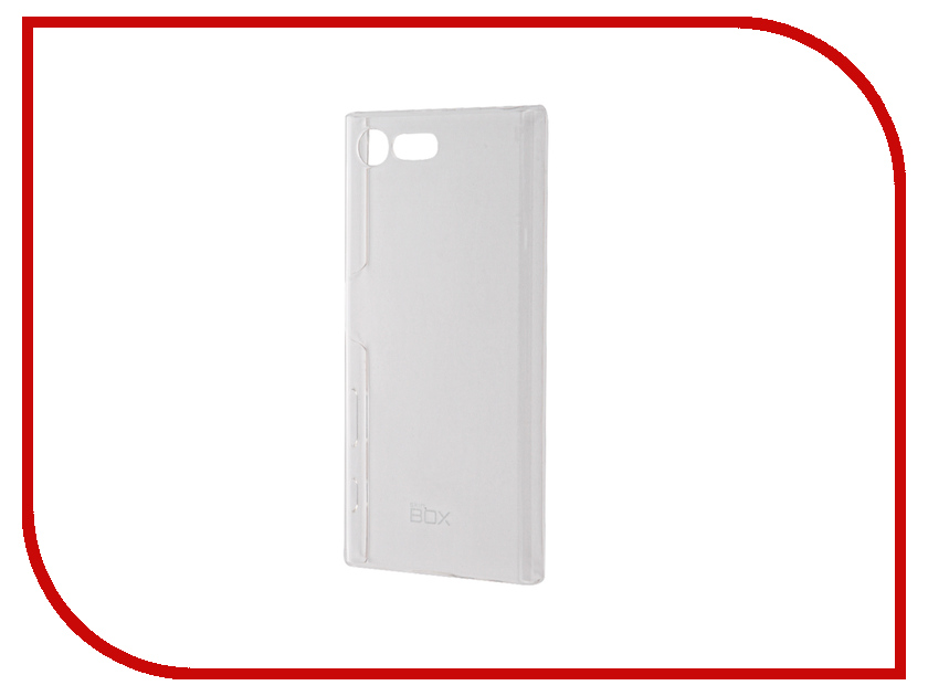 Аксессуар Чехол Sony Xperia X Compact SkinBox Crystal 4People Transparent T-S-SXC-007<br>
