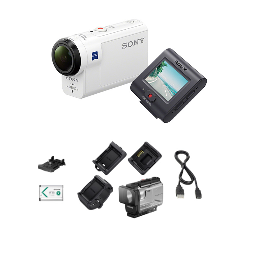 Экшн-камера Sony HDR-AS300R цена 2017
