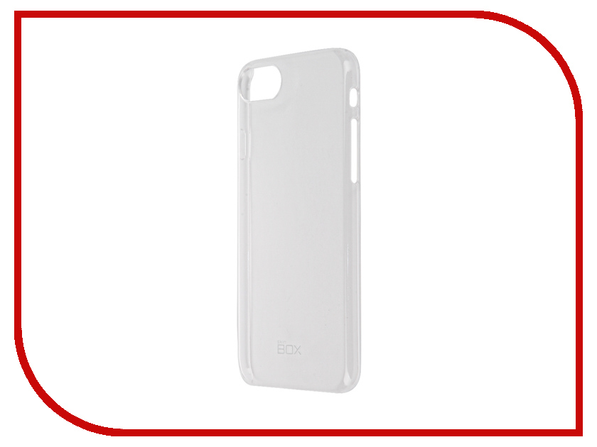 Аксессуар Чехол-накладка SkinBox Slim Silicone для iPhone 7 Transparent T-S-AI7-006<br>