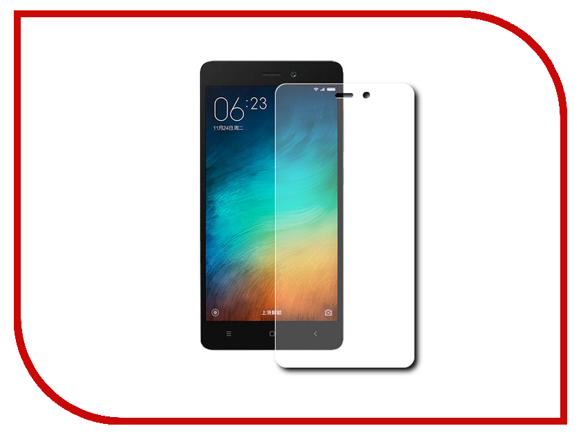 Аксессуар Защитное стекло Xiaomi Redmi 3 Pro Zibelino 0.33mm 2.5D ZTG-XIA-RDM-3-PRO аксессуар чехол xiaomi redmi pro zibelino classico black zcl xia pro blk