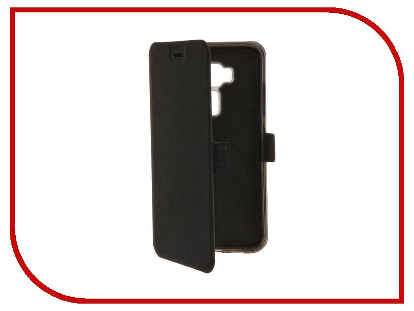 Аксессуар Чехол ASUS Zenfone 3 ZE520KL SkinBox Prime Book Black T-P-AZE520KL-05<br>