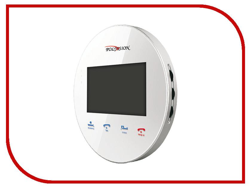 Видеодомофон Polyvision PVD-4S v.5.3 White