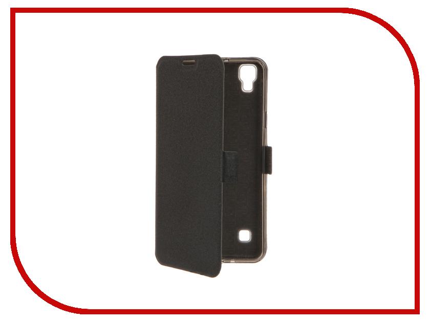 Аксессуар Чехол LG X Style SkinBox Style Prime Book Black T-P-LXS-05 аксессуар чехол lenovo vibe c2 skinbox prime book red t p lvc2 05