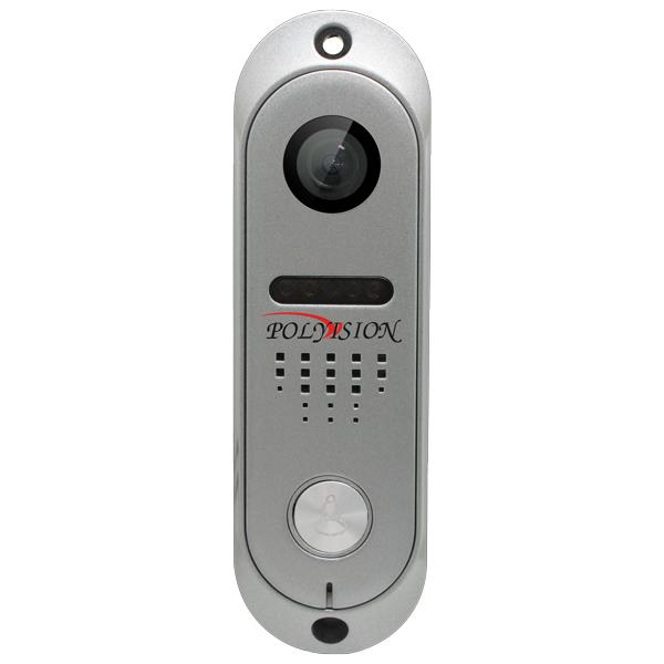 Вызывная панель Polyvision PVP-L9 v.7.6 Silver вызывная панель dvc 414si color silver