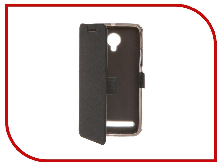 Аксессуар Чехол Lenovo Vibe C2 SkinBox Prime Book Black T-P-LVC2-05