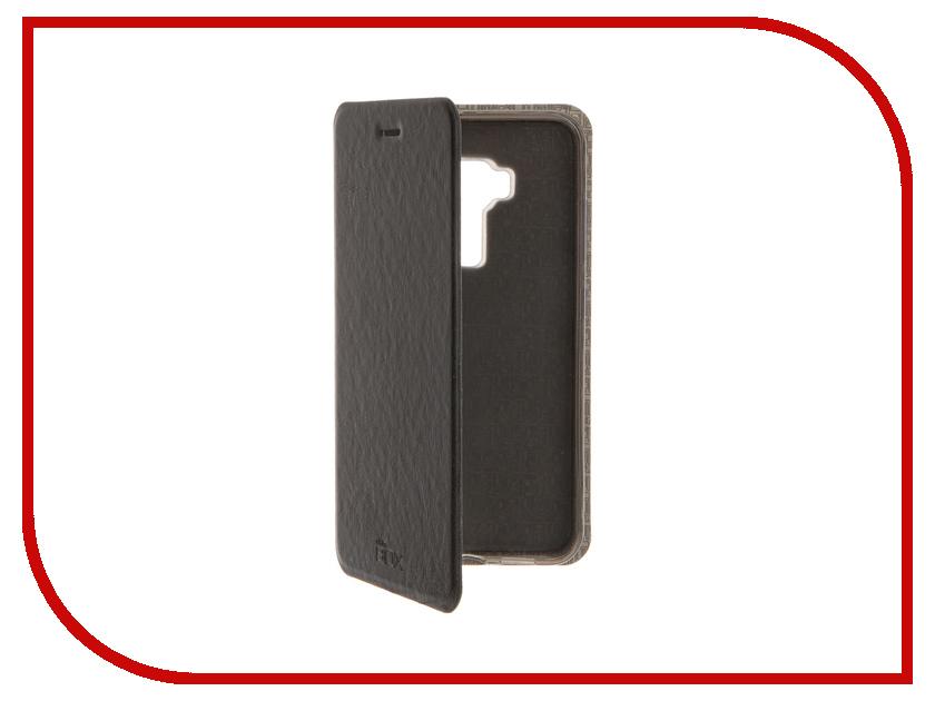 Аксессуар Чехол ASUS Zenfone 3 ZE552KL SkinBox Lux Black T-S-AZE552KL-003<br>
