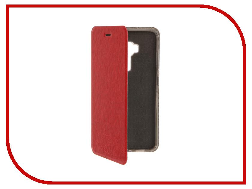 Аксессуар Чехол ASUS Zenfone 3 ZE552KL SkinBox Lux Red T-S-AZE552KL-003<br>