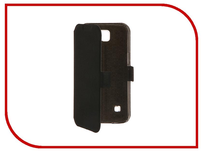 Аксессуар Чехол LG K3 SkinBox Prime Book Black T-P-LK3-05 аксессуар чехол lenovo vibe c2 skinbox prime book red t p lvc2 05