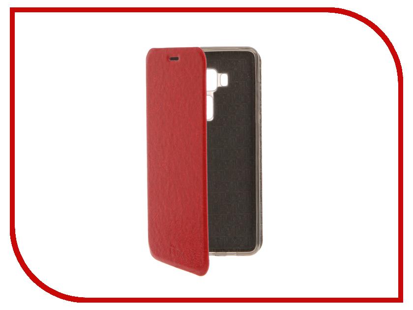 Аксессуар Чехол ASUS Zenfone 3 ZS570KL SkinBox Lux Red T-S-AZS570KL-003<br>